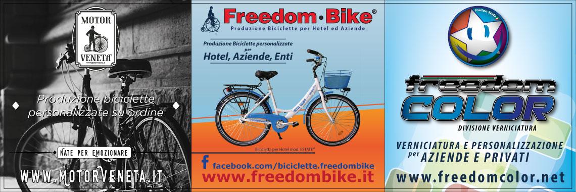 Biciclette per hotel freedom bike 4