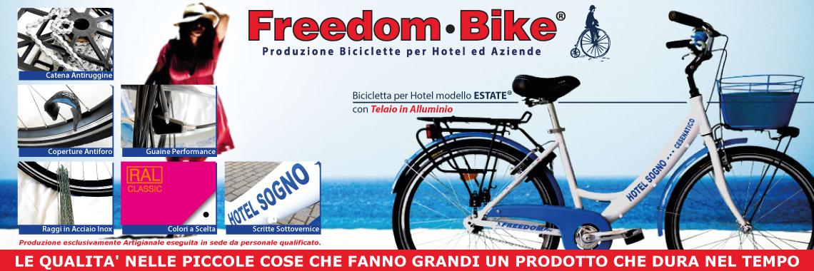 Bicicletta per hotel modello estate